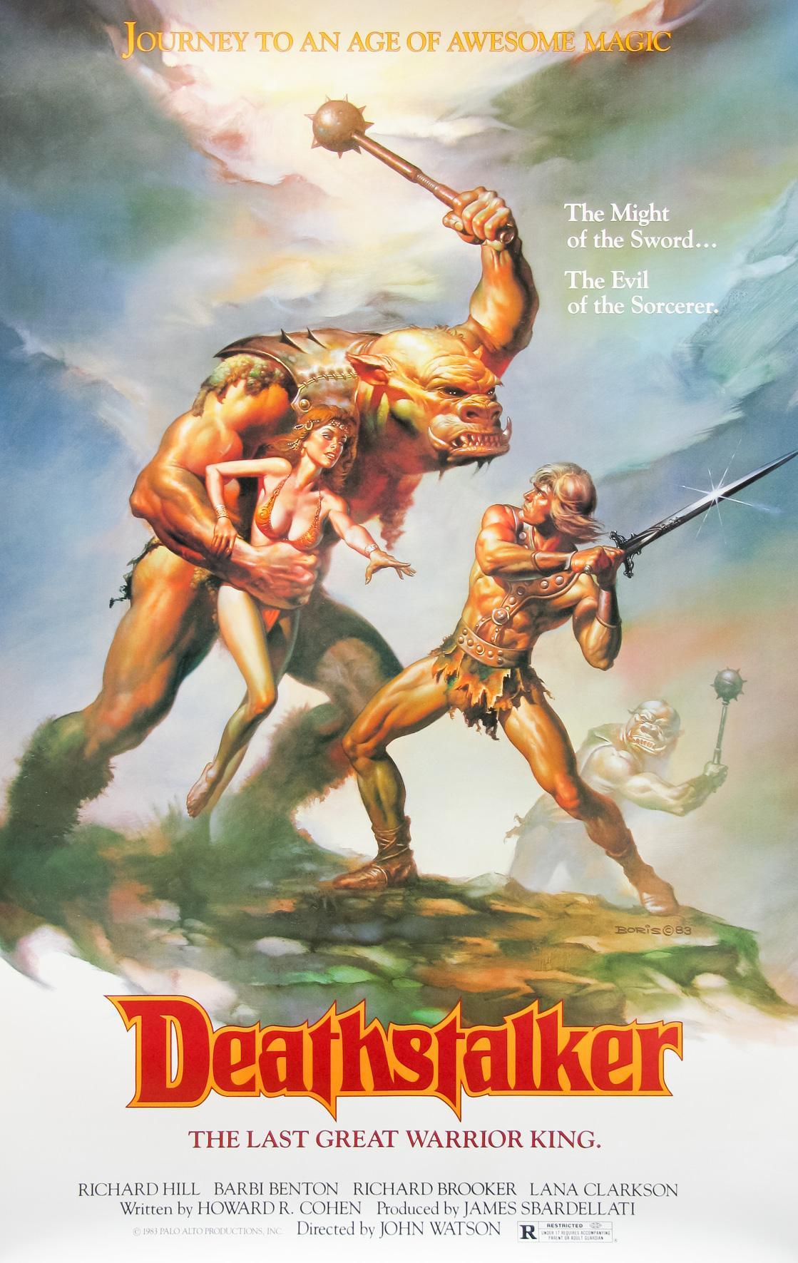 Deathstalker (1983) poster