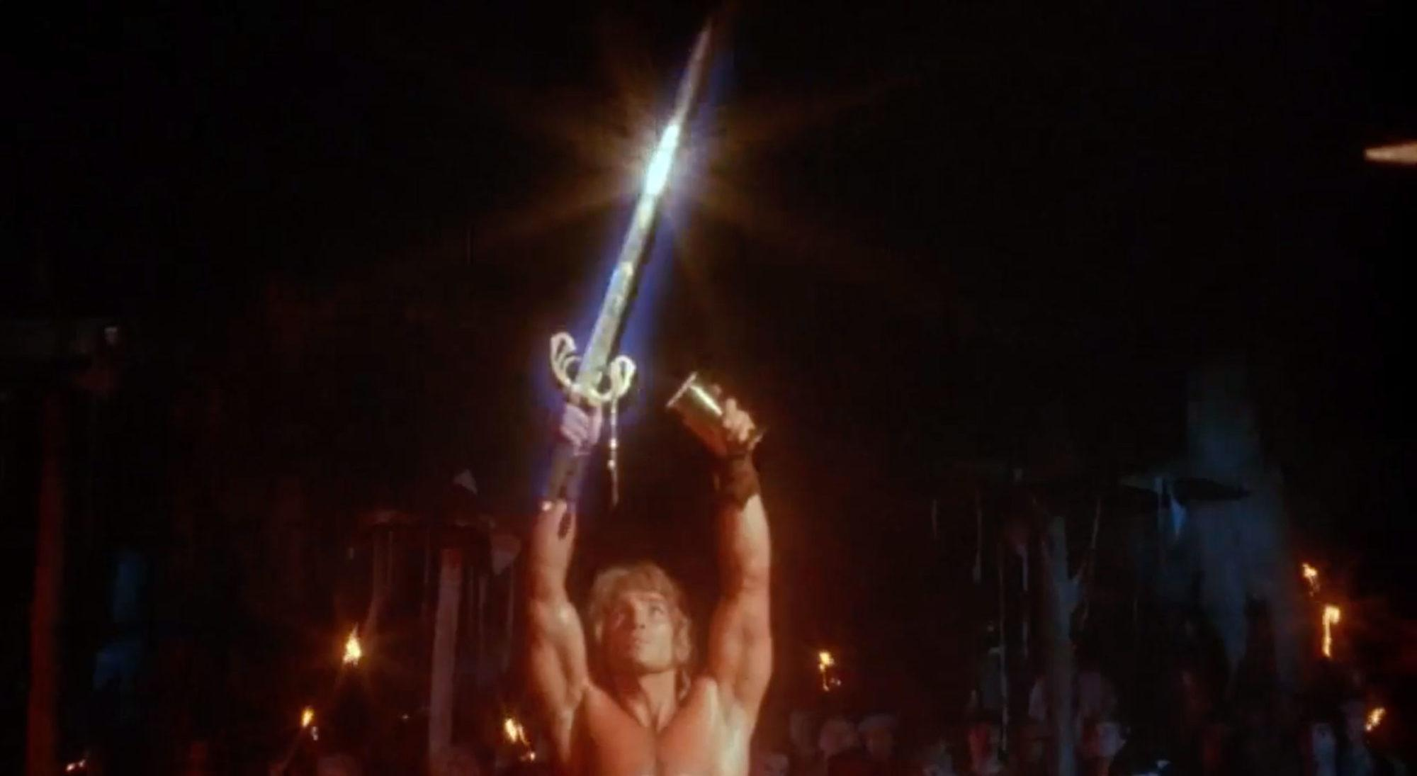 Rick Hill in Deathstalker (1983)