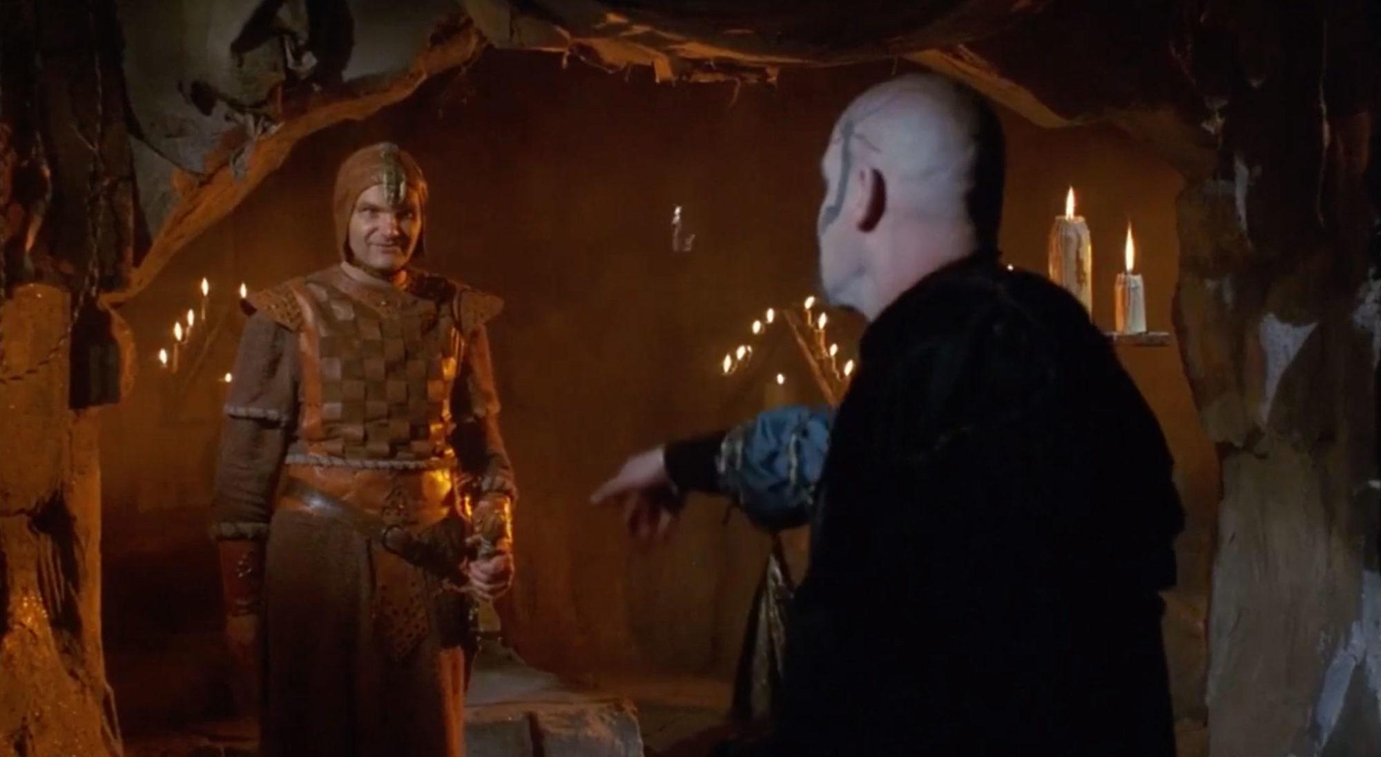 Bernard Erhard as Munkar in Deathstalker (1983), CultCelebrities.com