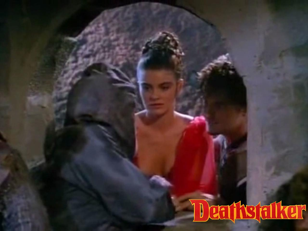 Carla Herd as Princess Carissa in Deathstalker III: The Warriors from Hell