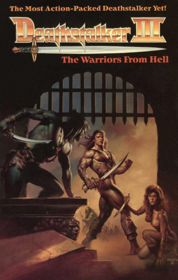Deathstalker III: The Warriors from Hell is a 1988 low-budget sword-and-sorcery film produced by famous producer Roger Corman