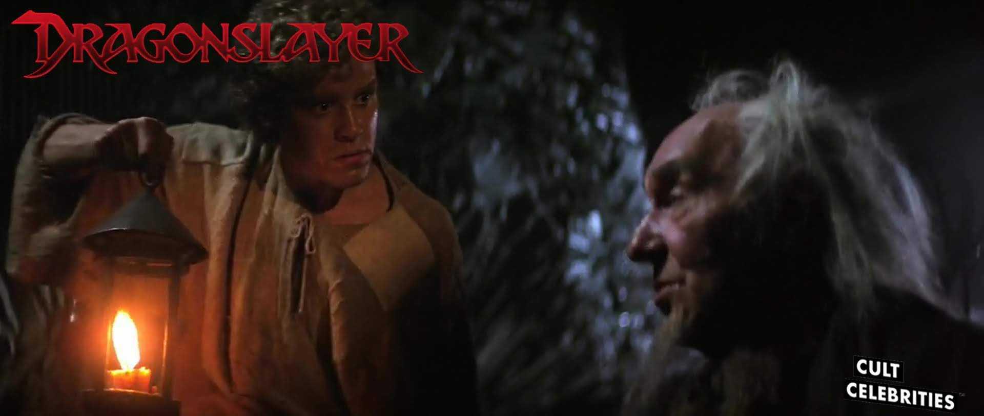 Ralph Richardson in Dragonslayer (1981)