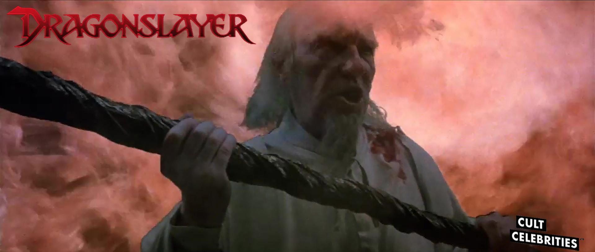 Ralph Richardson in Dragonslayer (1981)