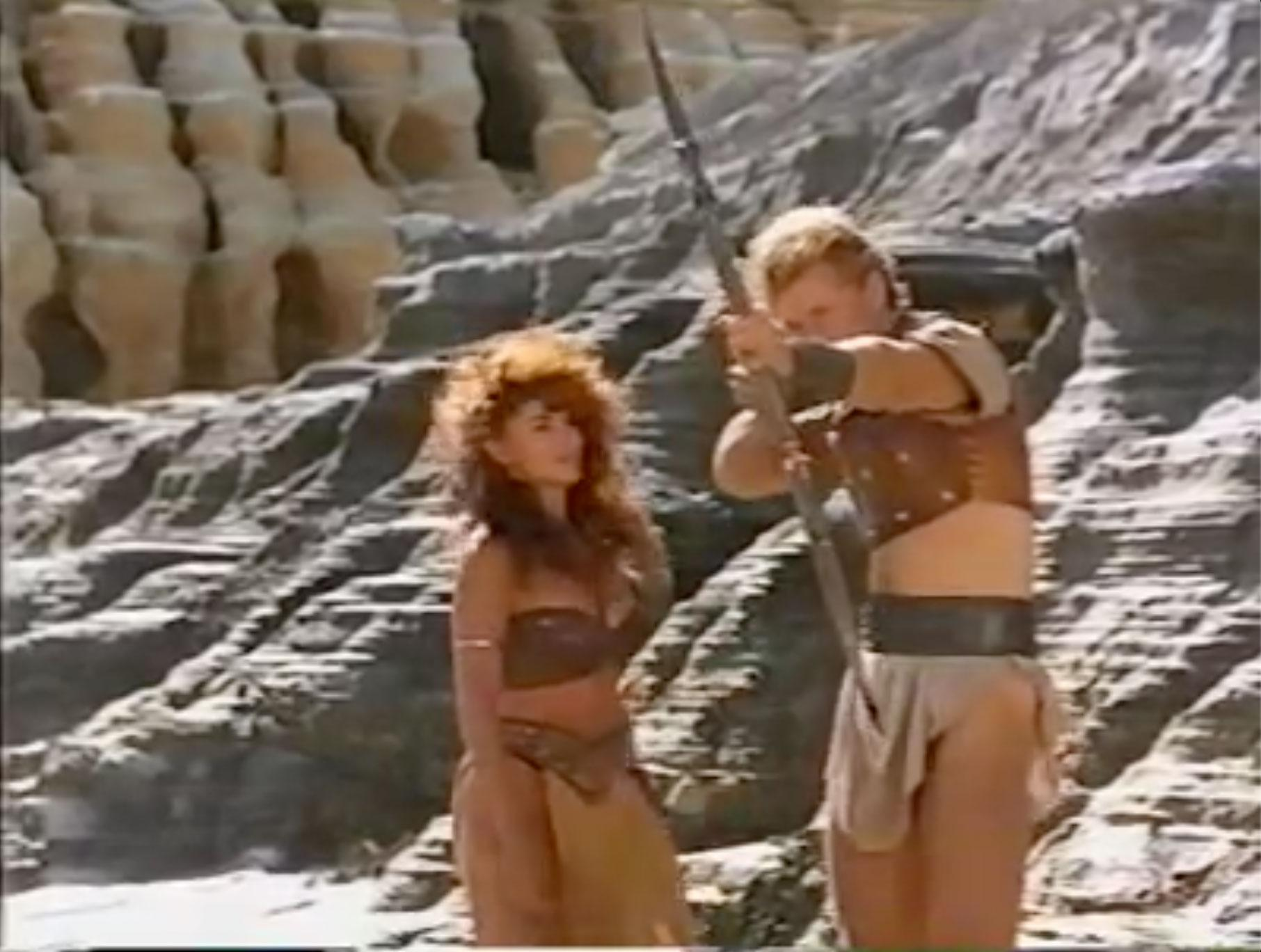 Rebecca Michelle Ferratti and Urbano Barberini in Gor (1987)