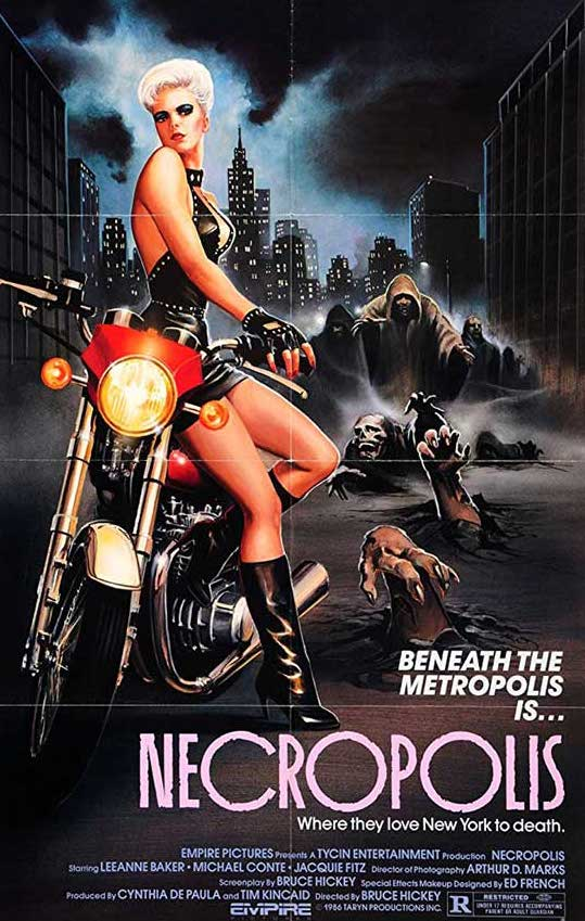 Necropolis (1986) Movie Poster