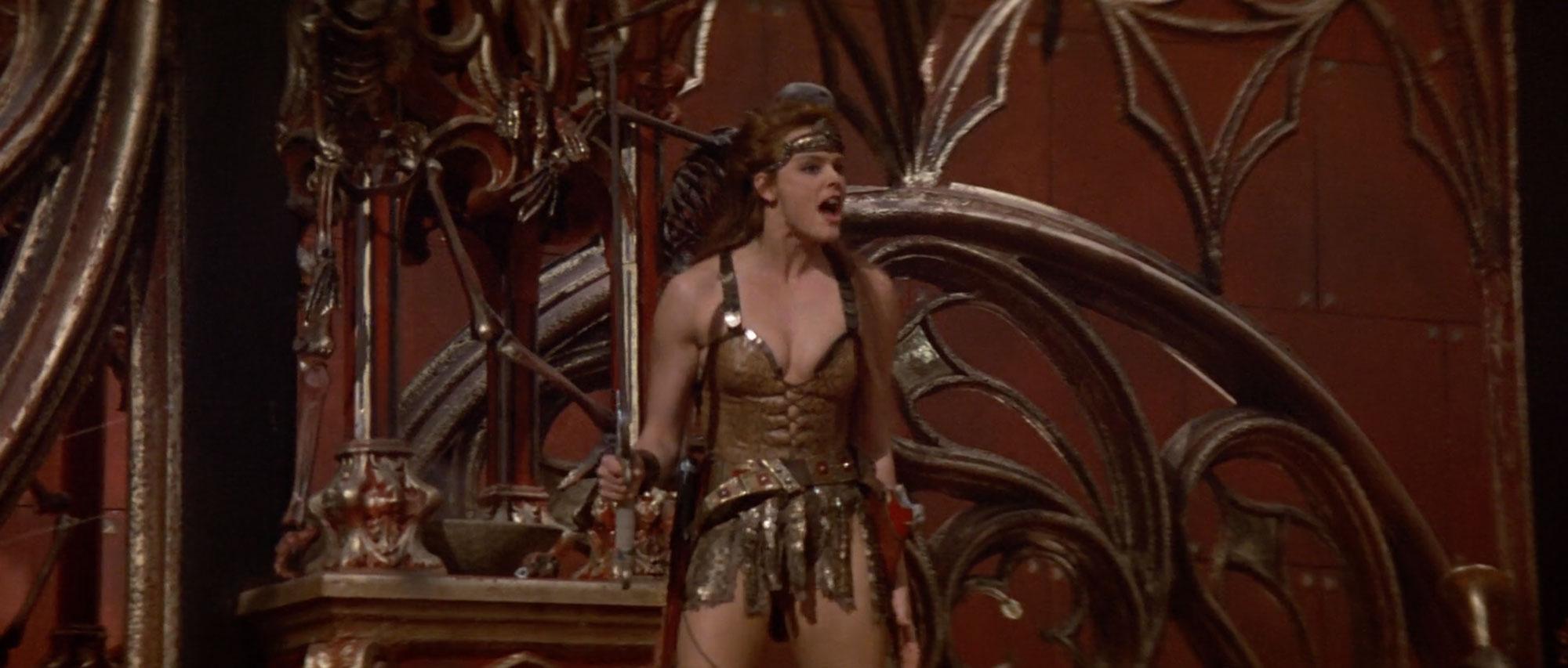 Brigitte Nielsen in Red Sonja (1985)