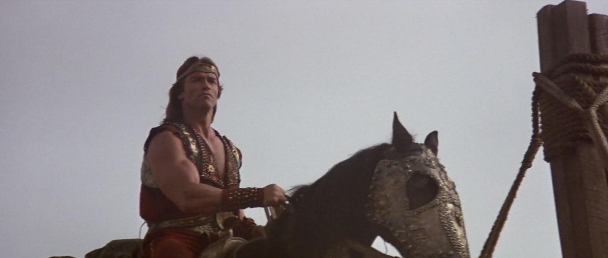 Arnold Schwarzenegger in Red Sonja (1985)