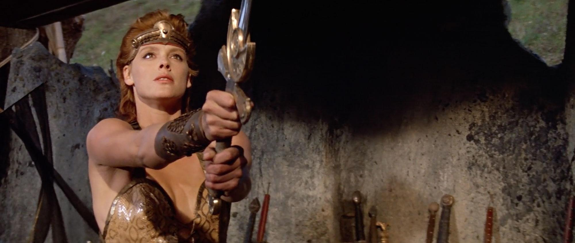 Brigitte Nielsen in Red Sonja (1985)