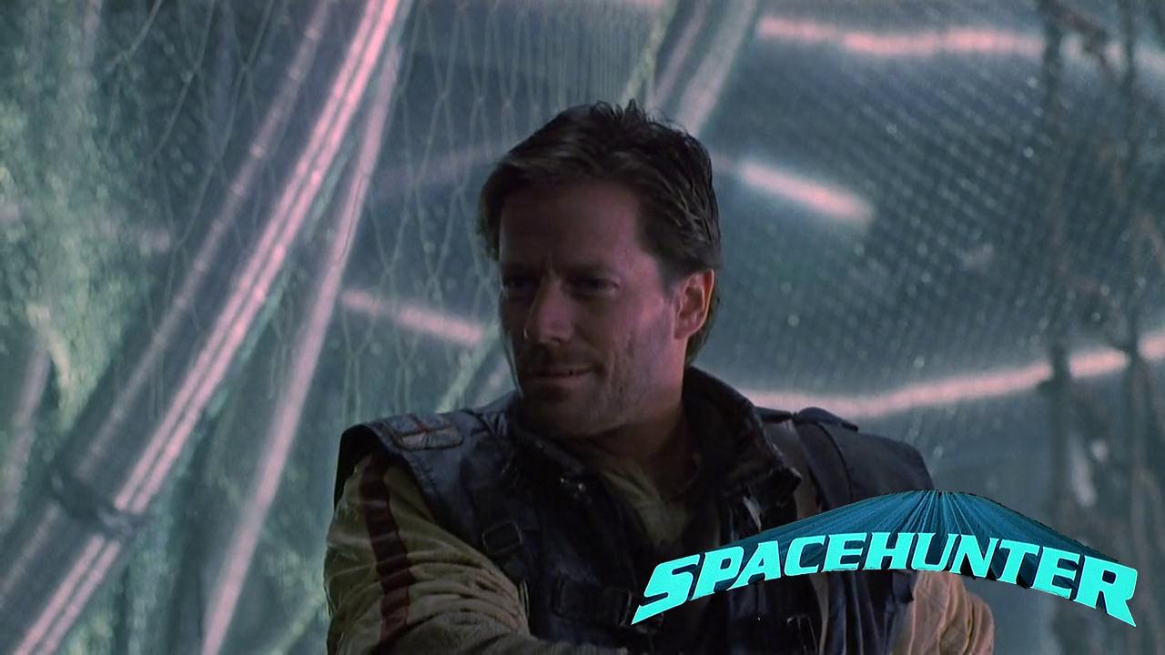 Peter Strauss in Spacehunter: Adventures in the Forbidden Zone (1983)