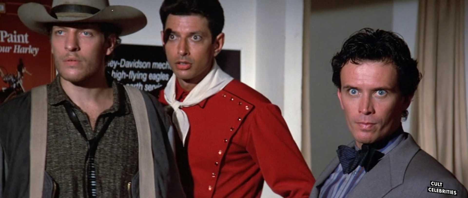 Jeff Goldblum in The Adventures of Buckaroo Banzai Across the 8th Dimension (1984)
