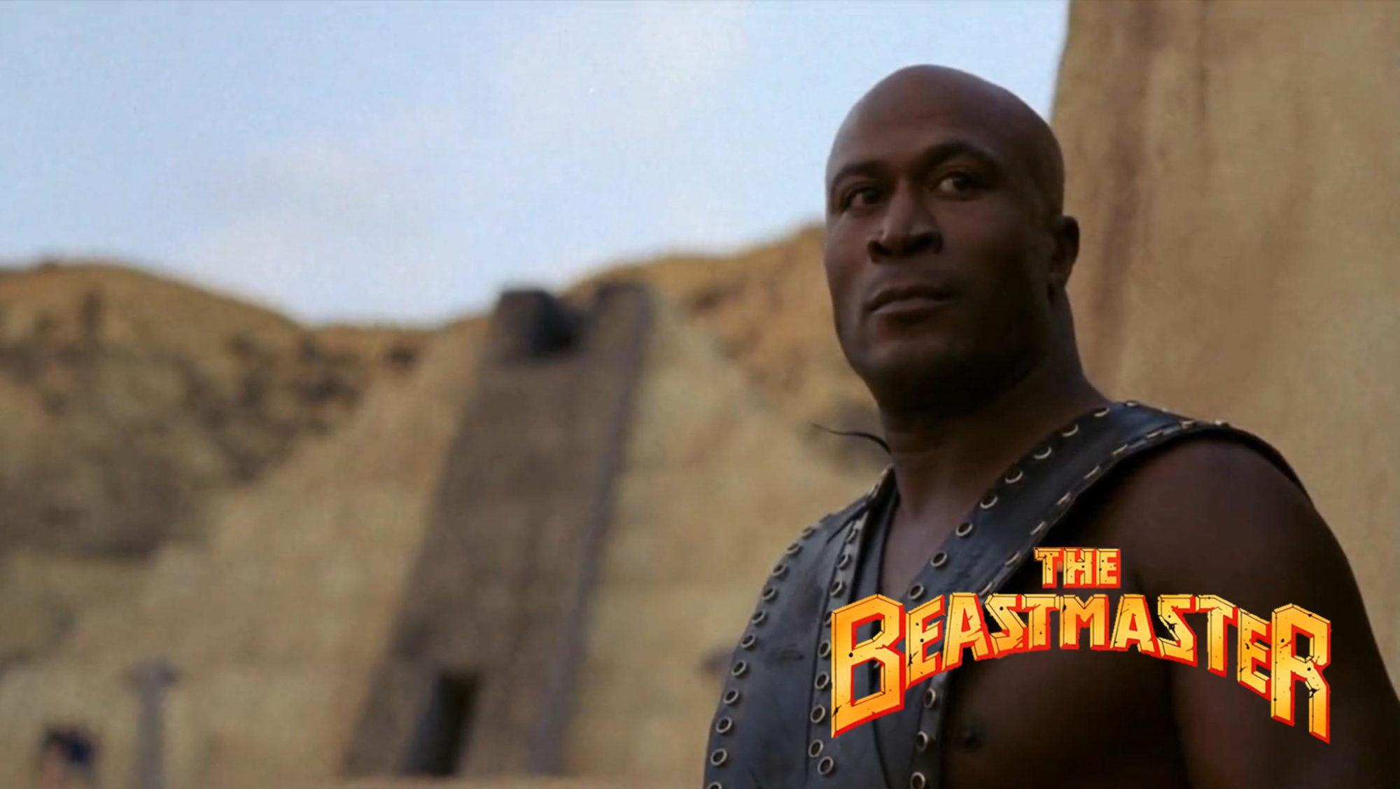 John Amos in The Beastmaster (1982)