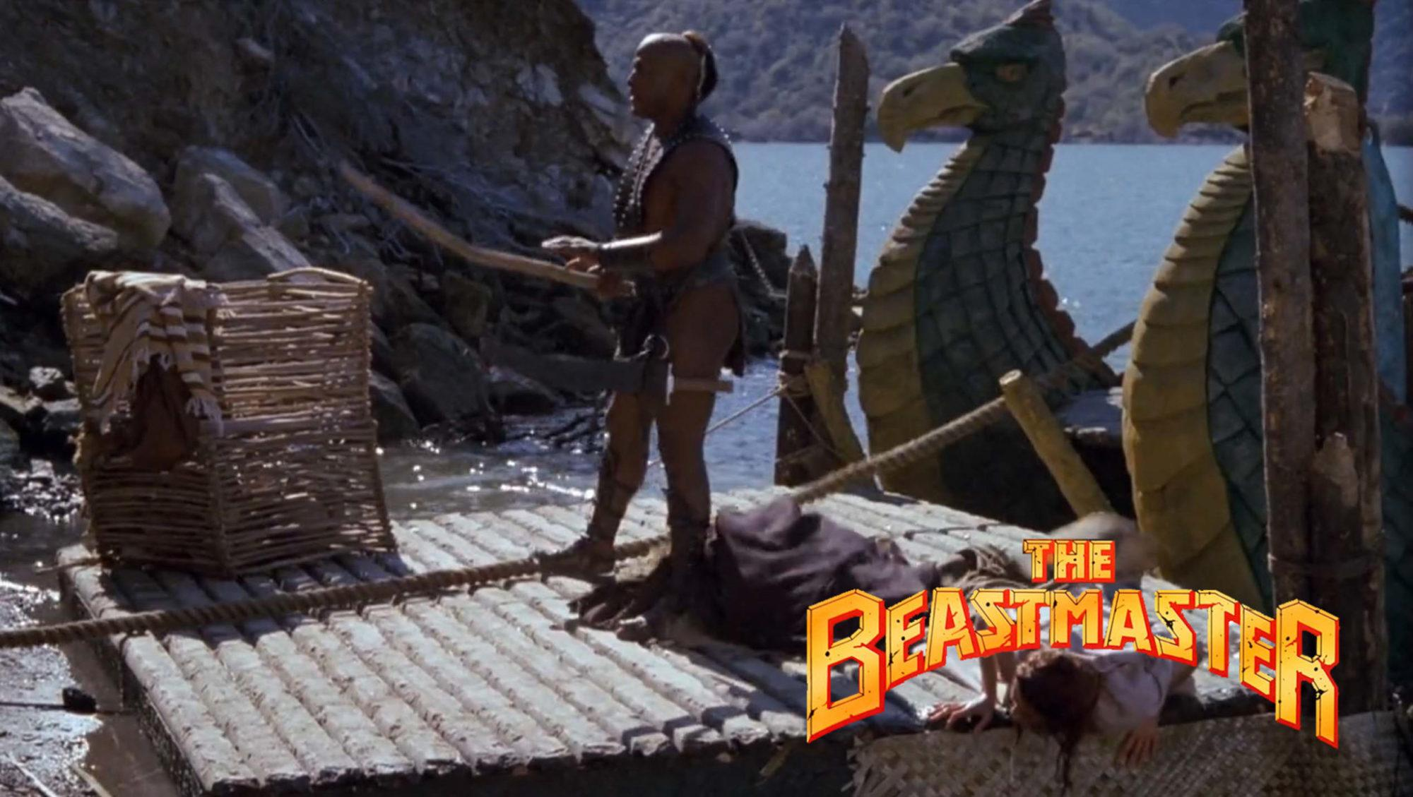 John Amos in The Beastmaster (1982)