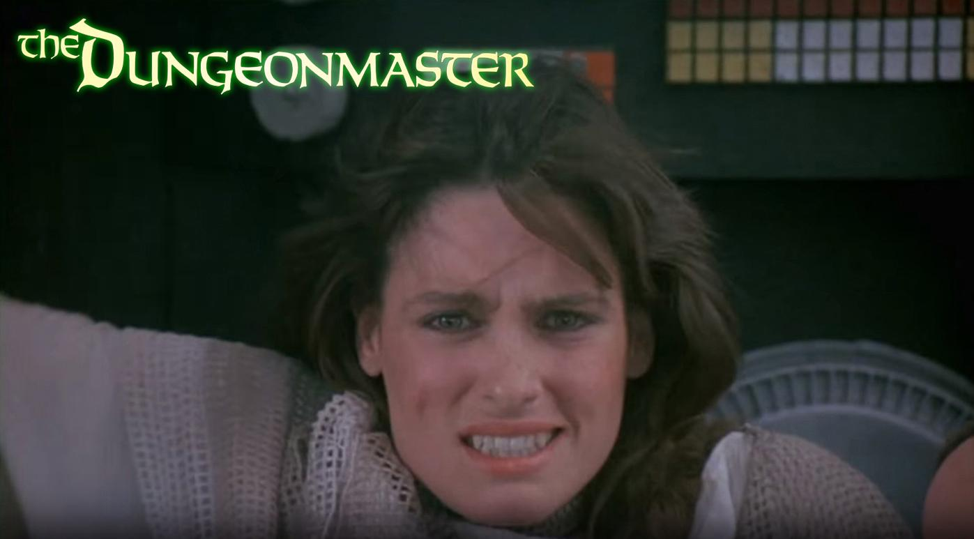 Leslie Wing in The Dungeonmaster (1984)