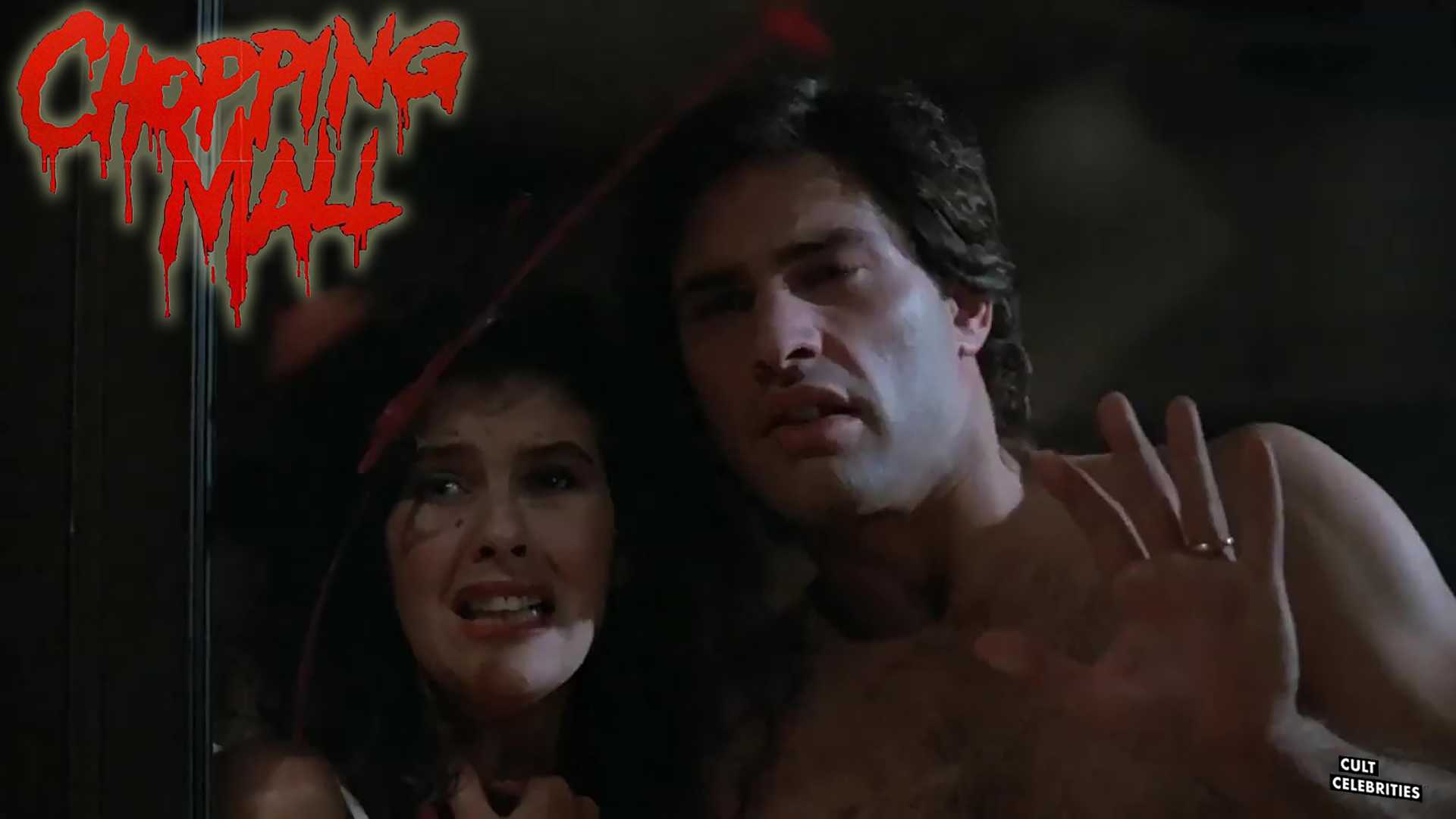 Karrie Emerson and Russell Todd in Chopping Mall (1986)