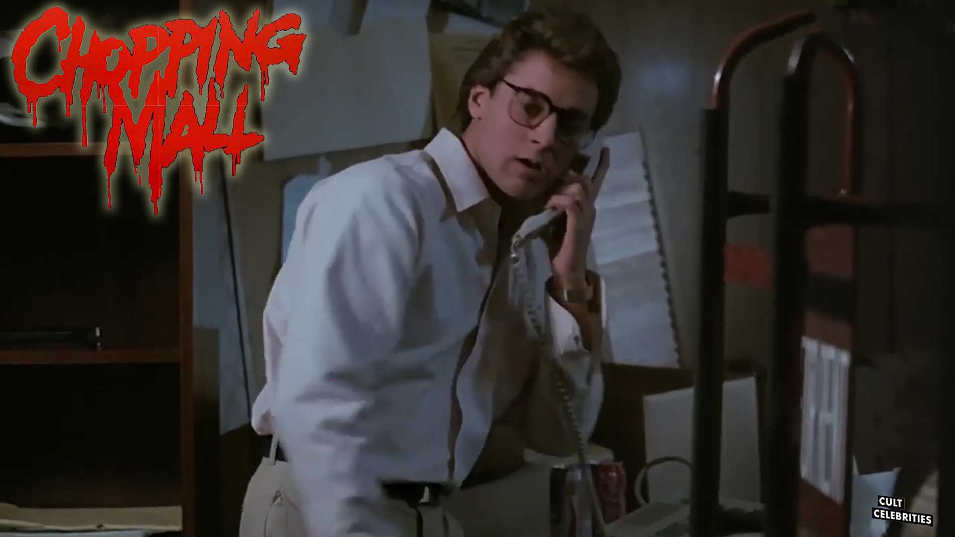 Tony O'Dell in Chopping Mall (1986)