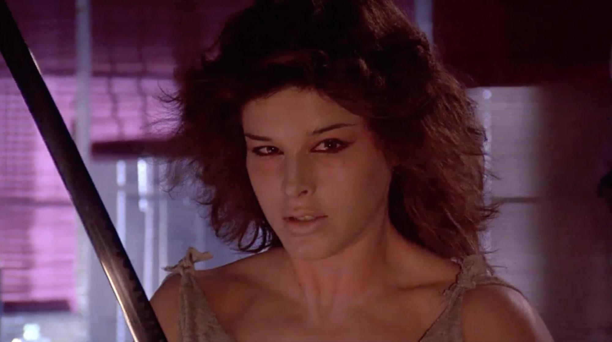 Lucinda Dickey in Ninja III: The Domination