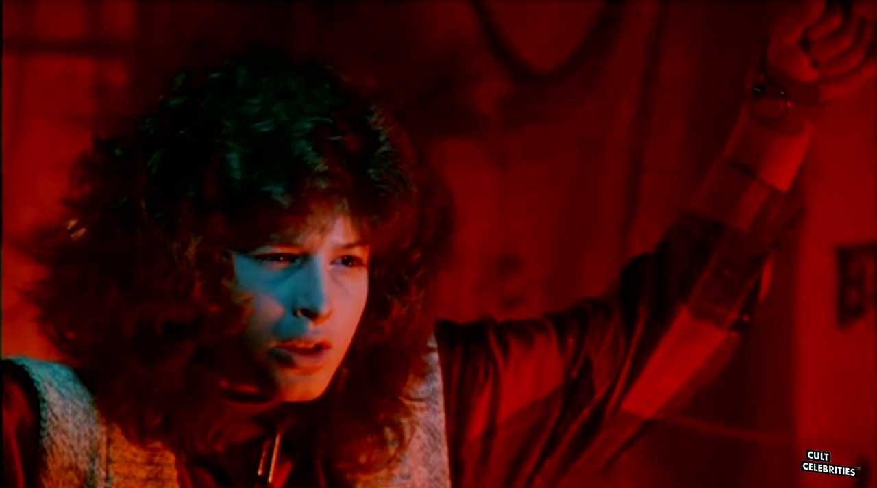 Lucinda Dickey in Ninja III The Domination (1984)