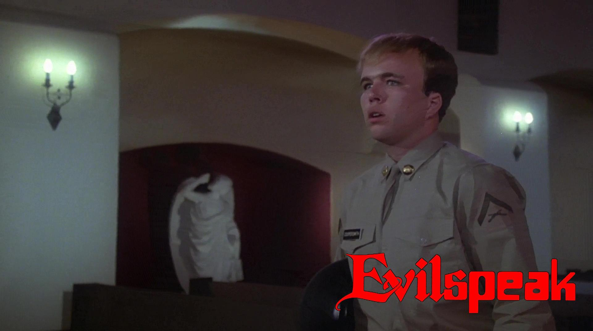 Clint Howard in Evilspeak (1981)