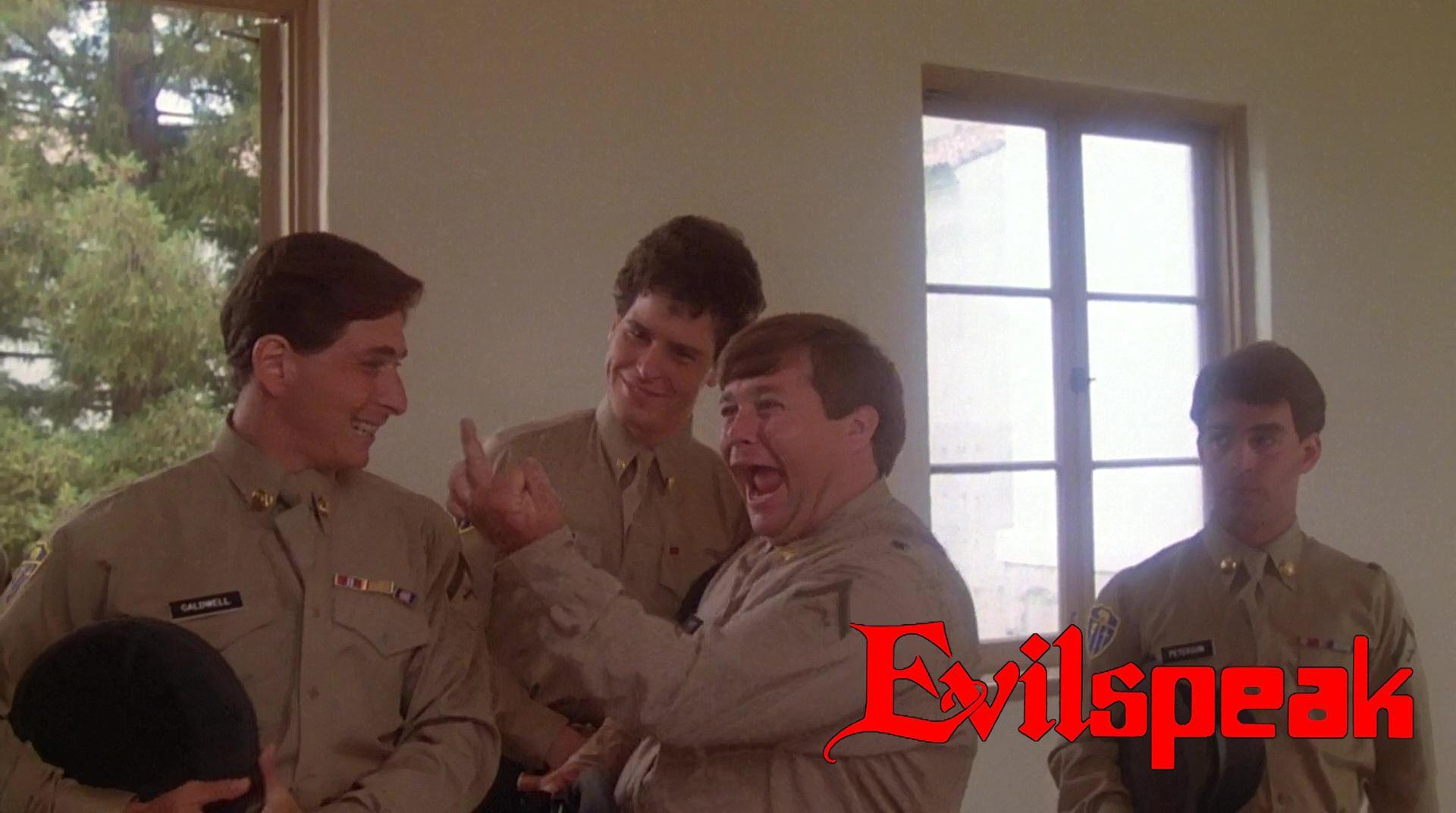Don Stark in Evilspeak (1981)