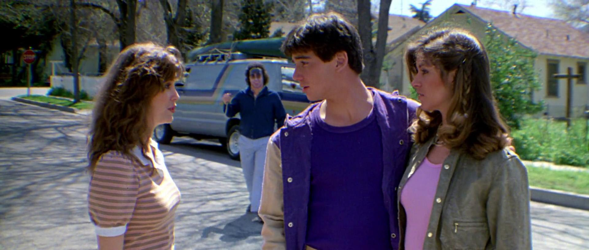 Dana Kimmell, Larry Zerner, Tracie Savage and Jeffrey Rogers in Friday the 13th Part III (1982)