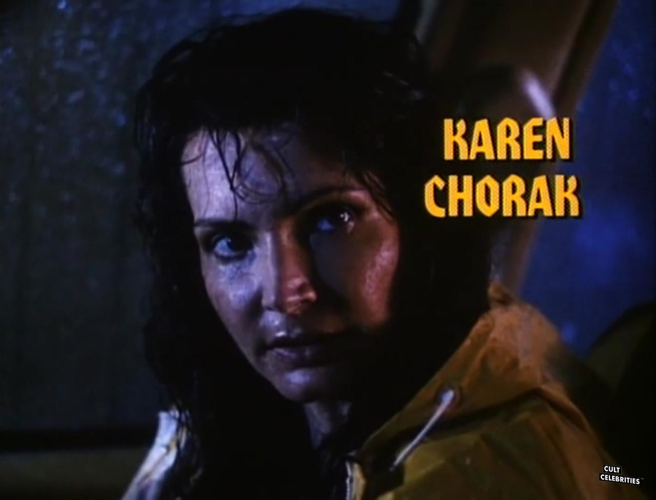 Toni Naples in Hard to Die (1990) as Karen Chorak