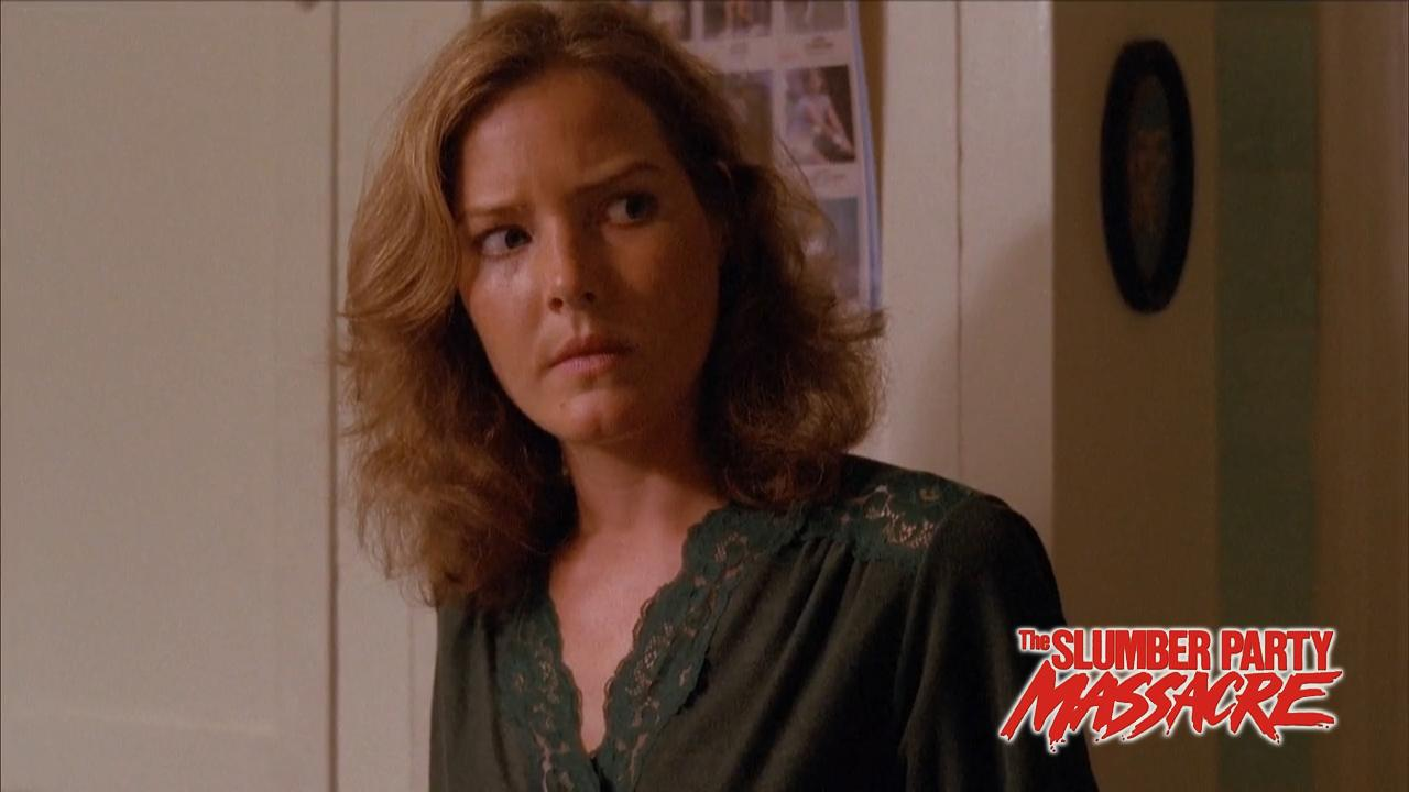 Pamela Roylance in The Slumber Party Massacre (1982)