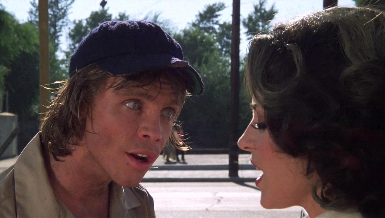 Mark Hammill and Annie Potts in Corvette Summer (1978)