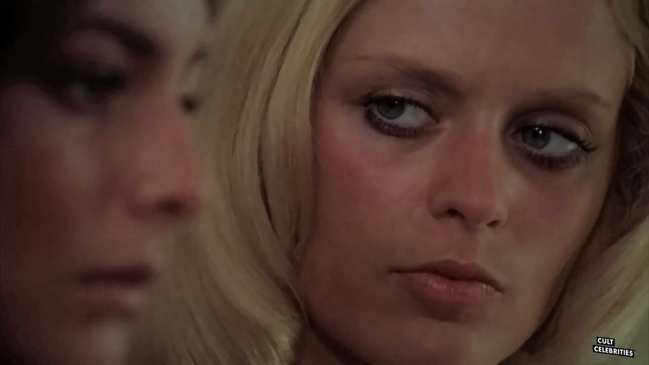 Sybil Danning in Eye in the Labyrinth (1972)