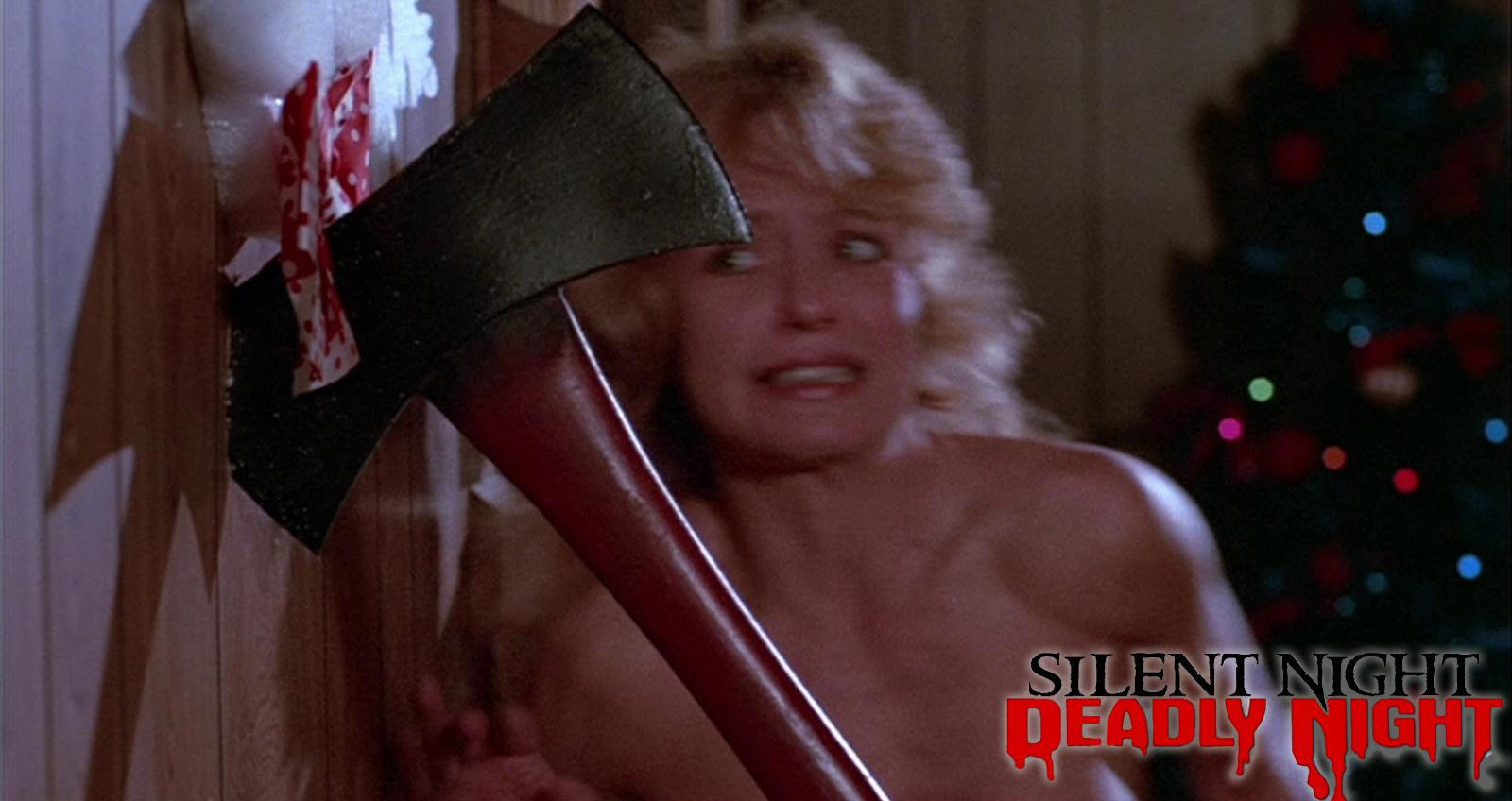 Linnea Quigley in Silent Night, Deadly Night (1984)