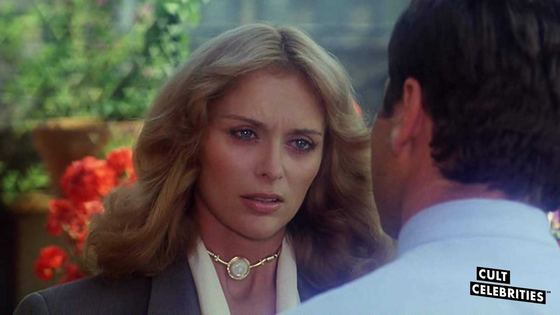 Sybill Danning and Franco Nero in The Salamander (1981)