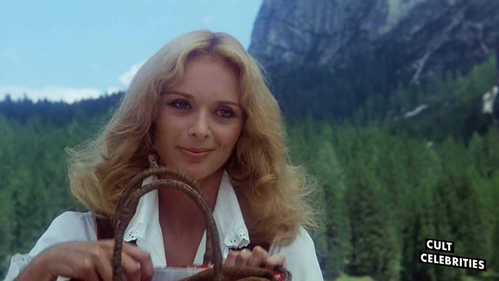 Sybill Danning in The Salamander (1981)