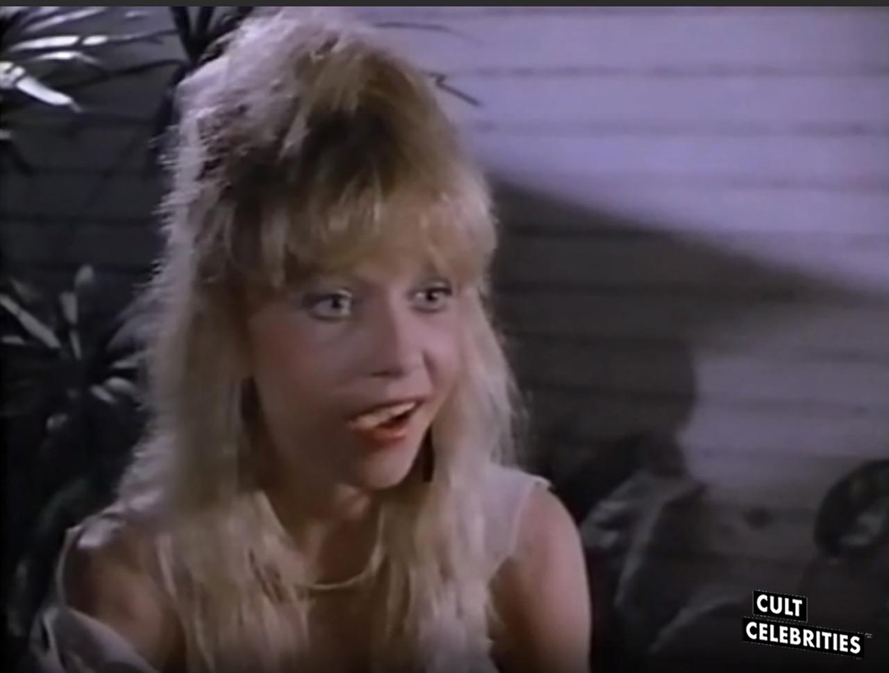 Linnea Quigley in Treasure of the Moon Goddess (1987)