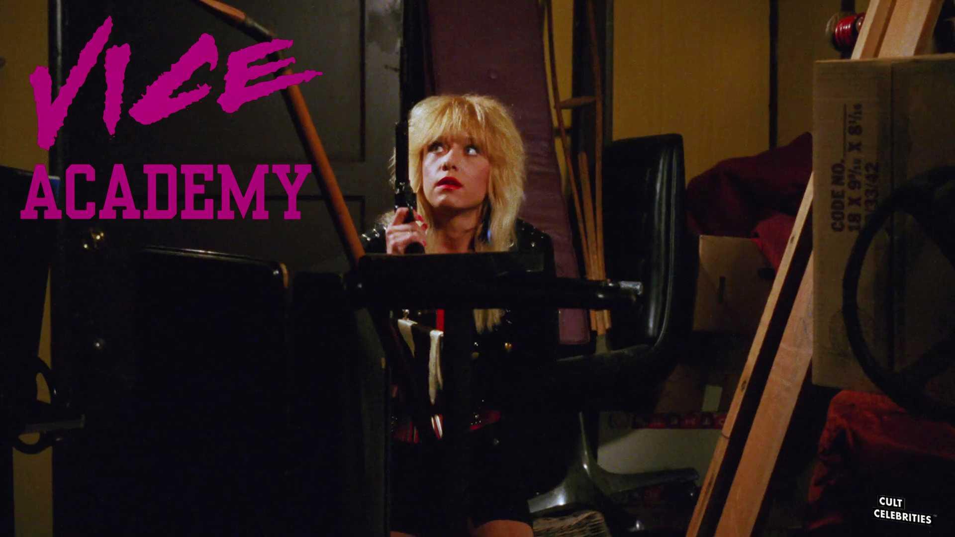 Linnea Quigley in Vice Academy (1989)