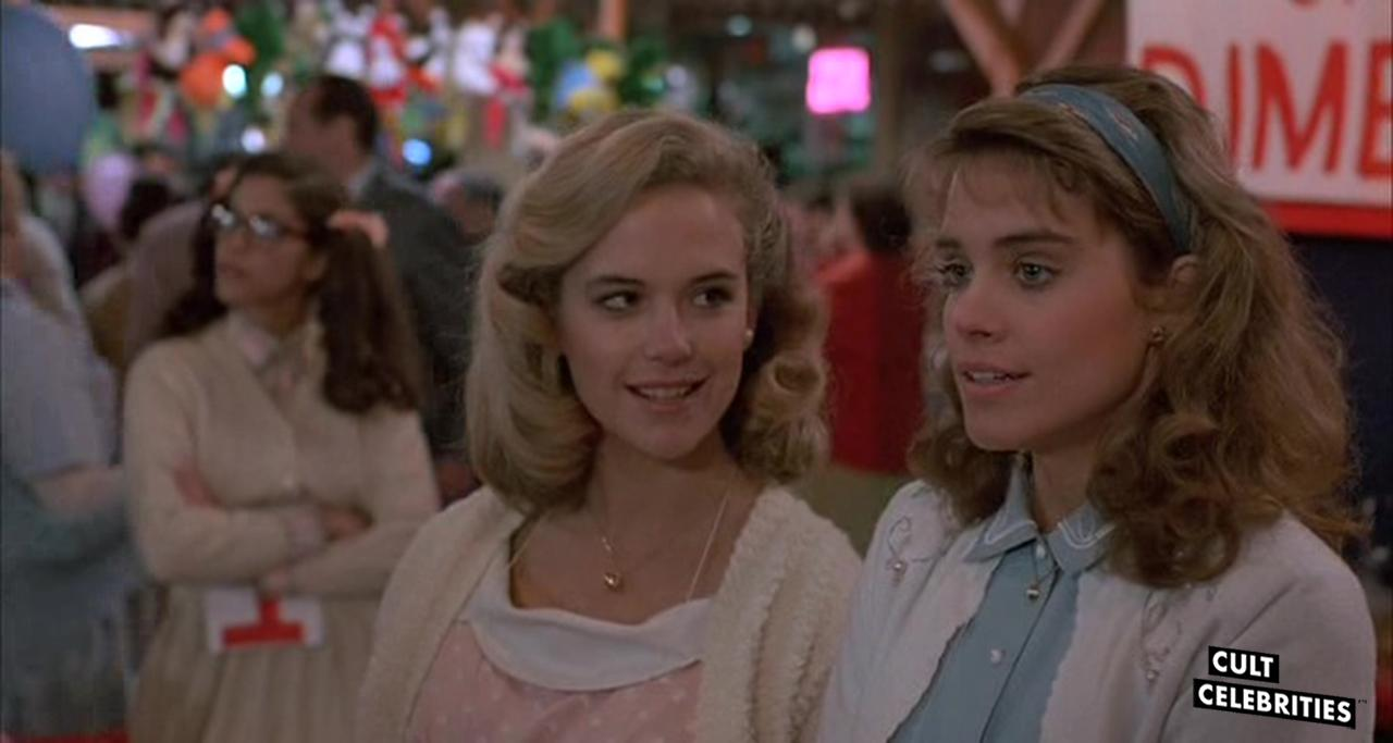Catherine Mary Stewart and Kelly Preston in Mischief (1985)