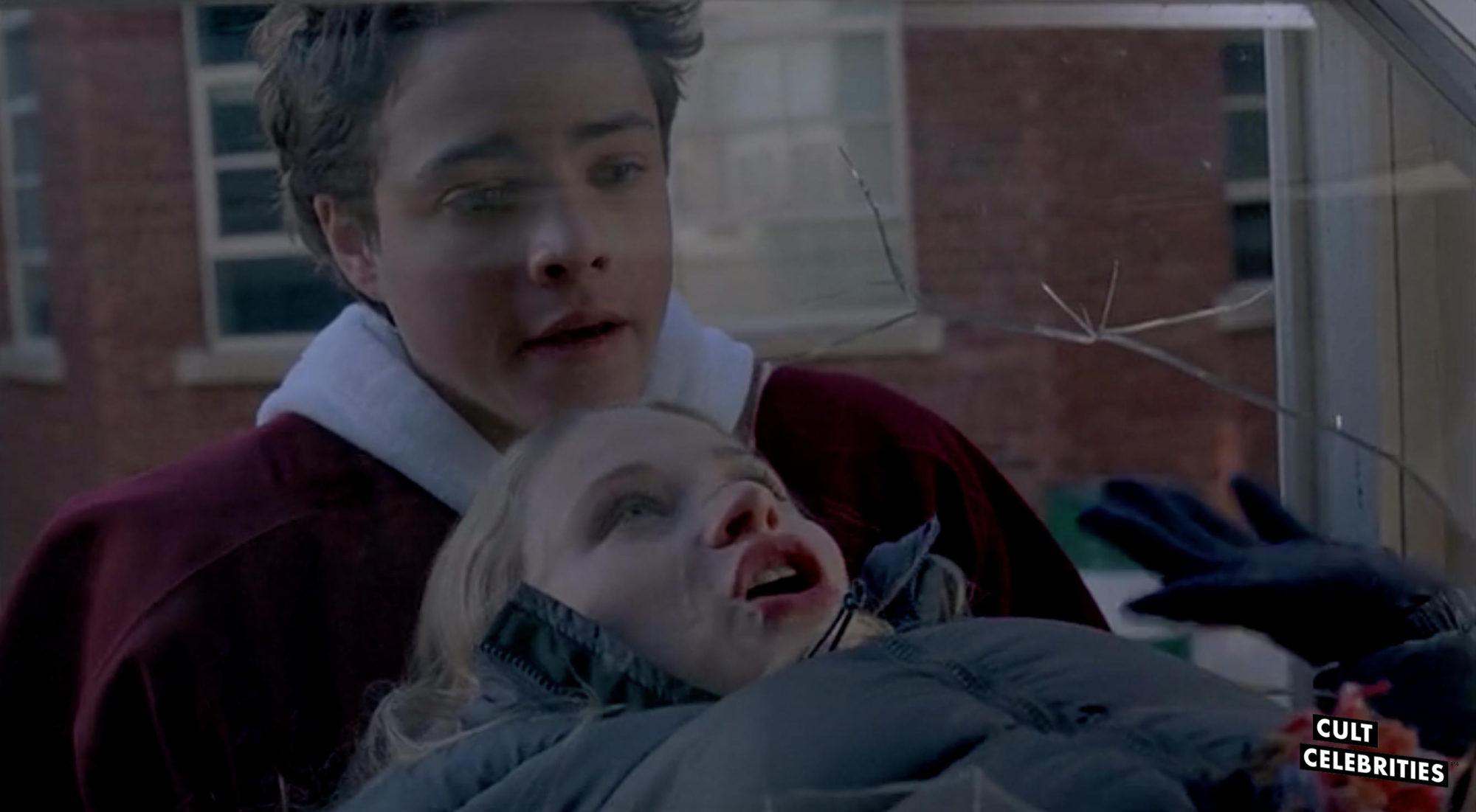 Douglas Smith in Santa's Slay