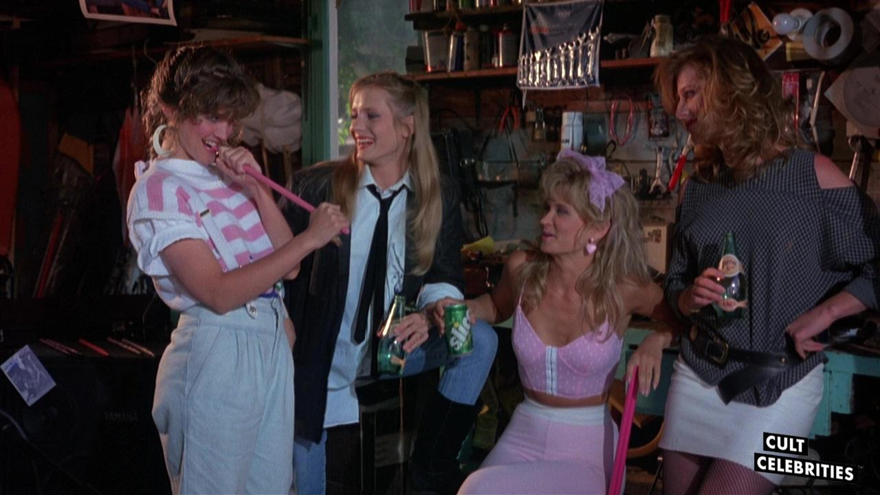 Crystal Bernard in Slumber Party Massacre II (1987)
