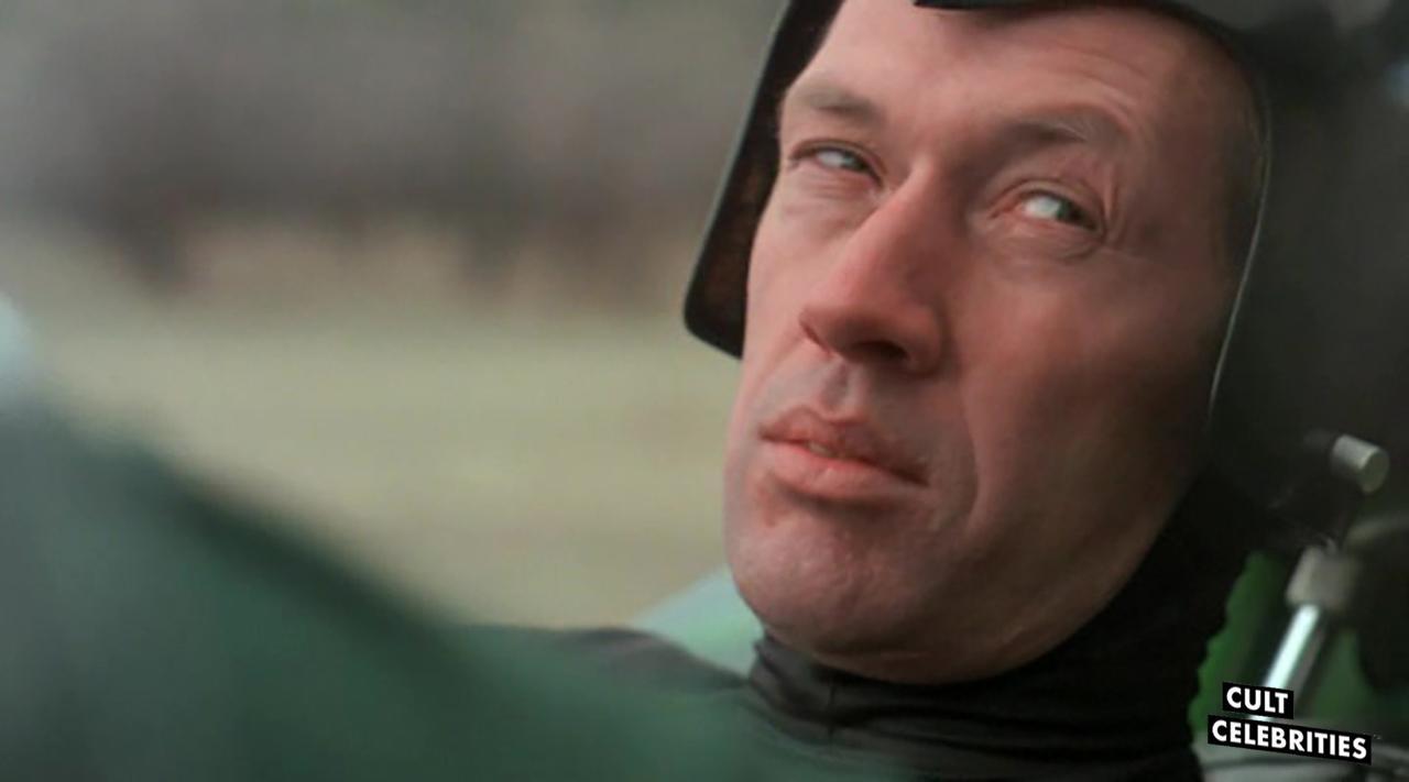 David Carradine in Death Race 2000 (1975)