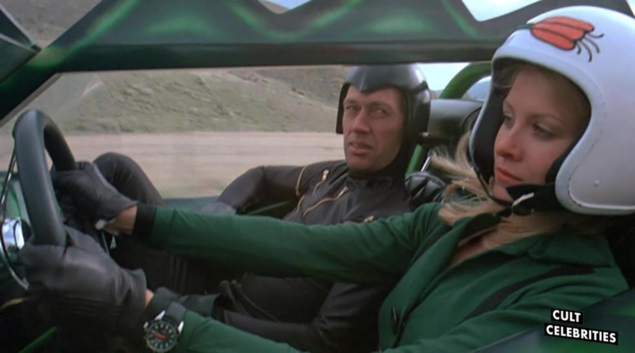 David Carradine in Death Race 2000 (1975)
