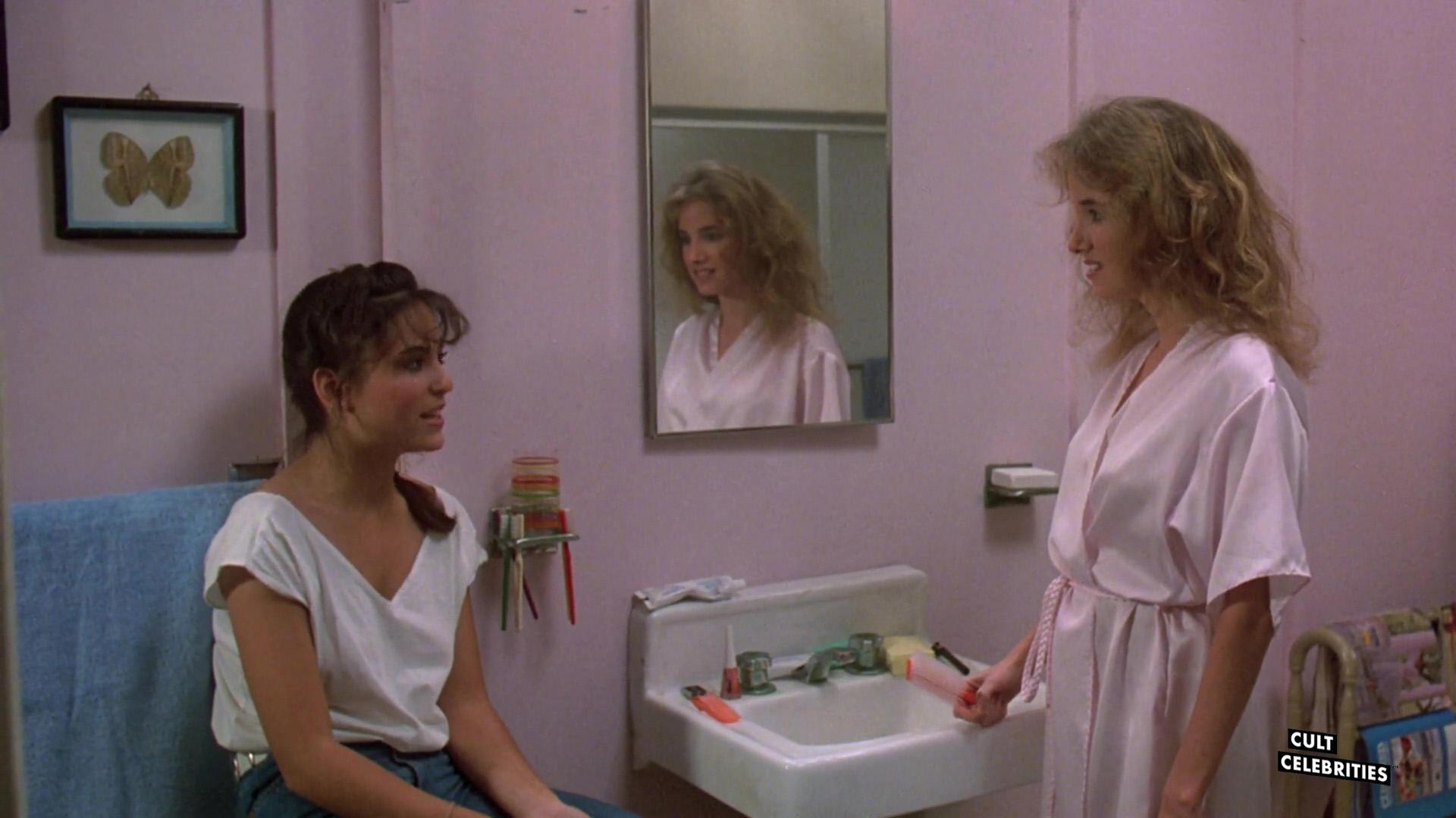 Barbara Howard and Judie Aronson in Friday the 13th: The Final Chapter (1984)