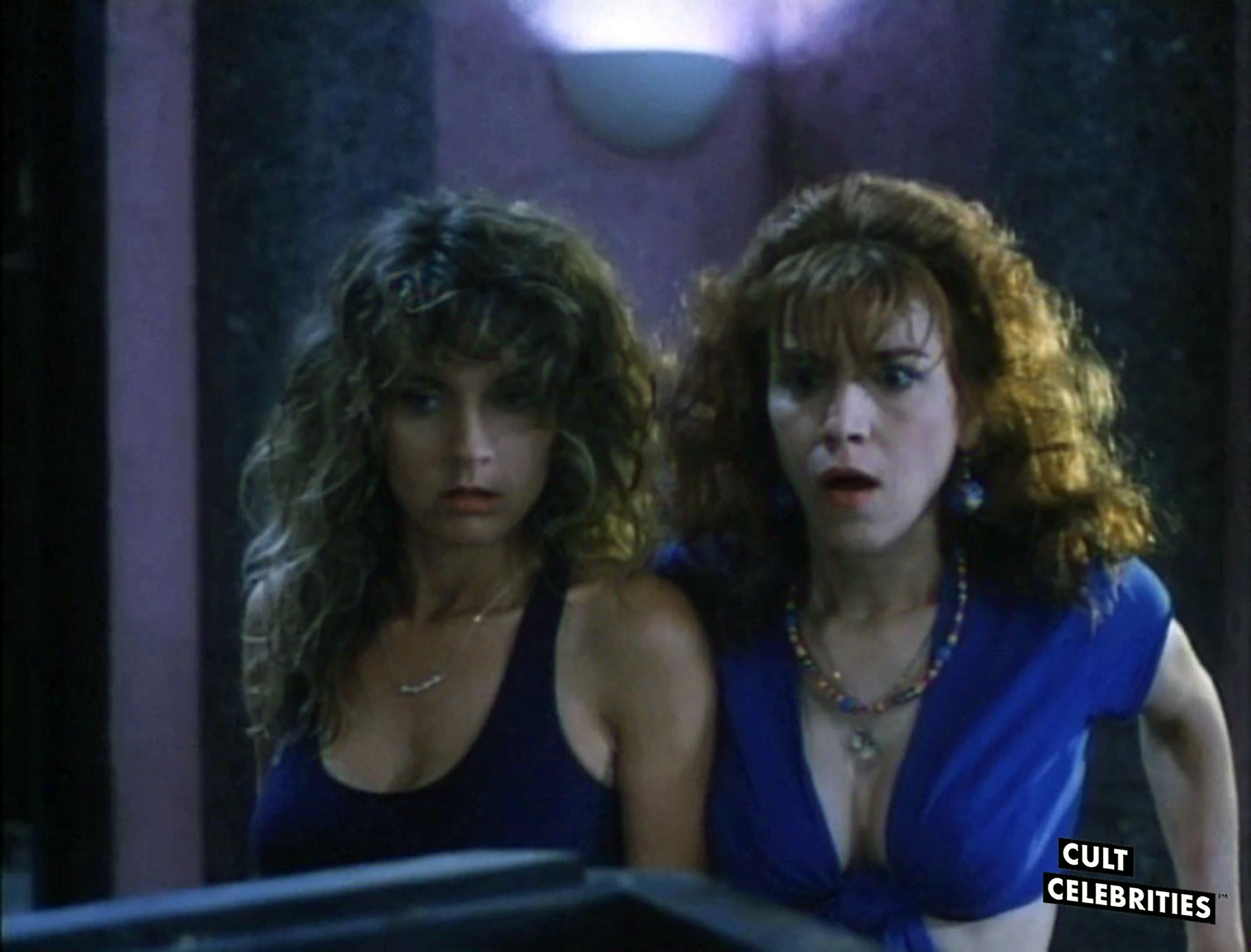 Deborah Dutch and Gail Thackray in Hard To Die (1990)