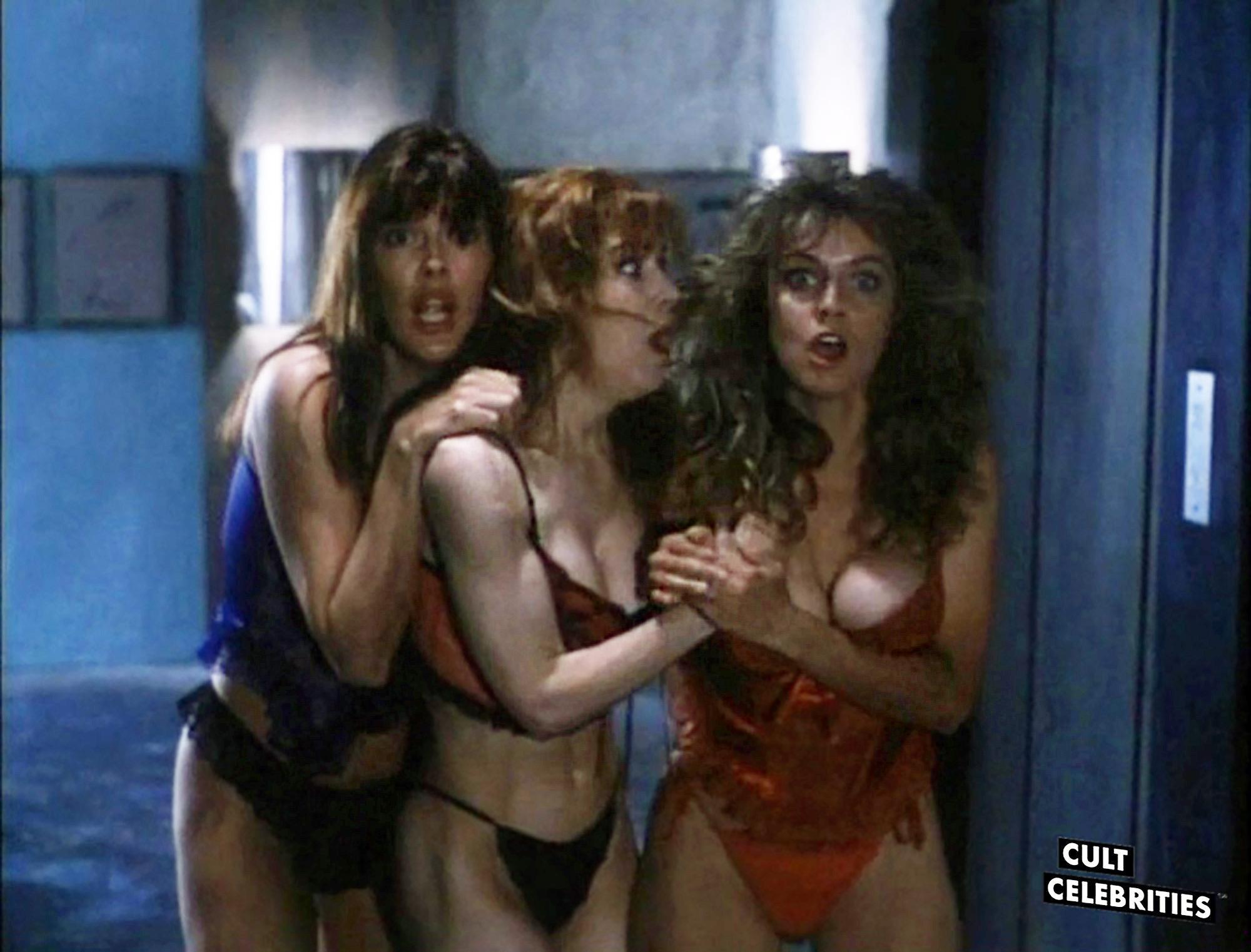 Gail Thackray, Bridget Carney and Karen Mayo-Chandler in Hard to Die (1990)