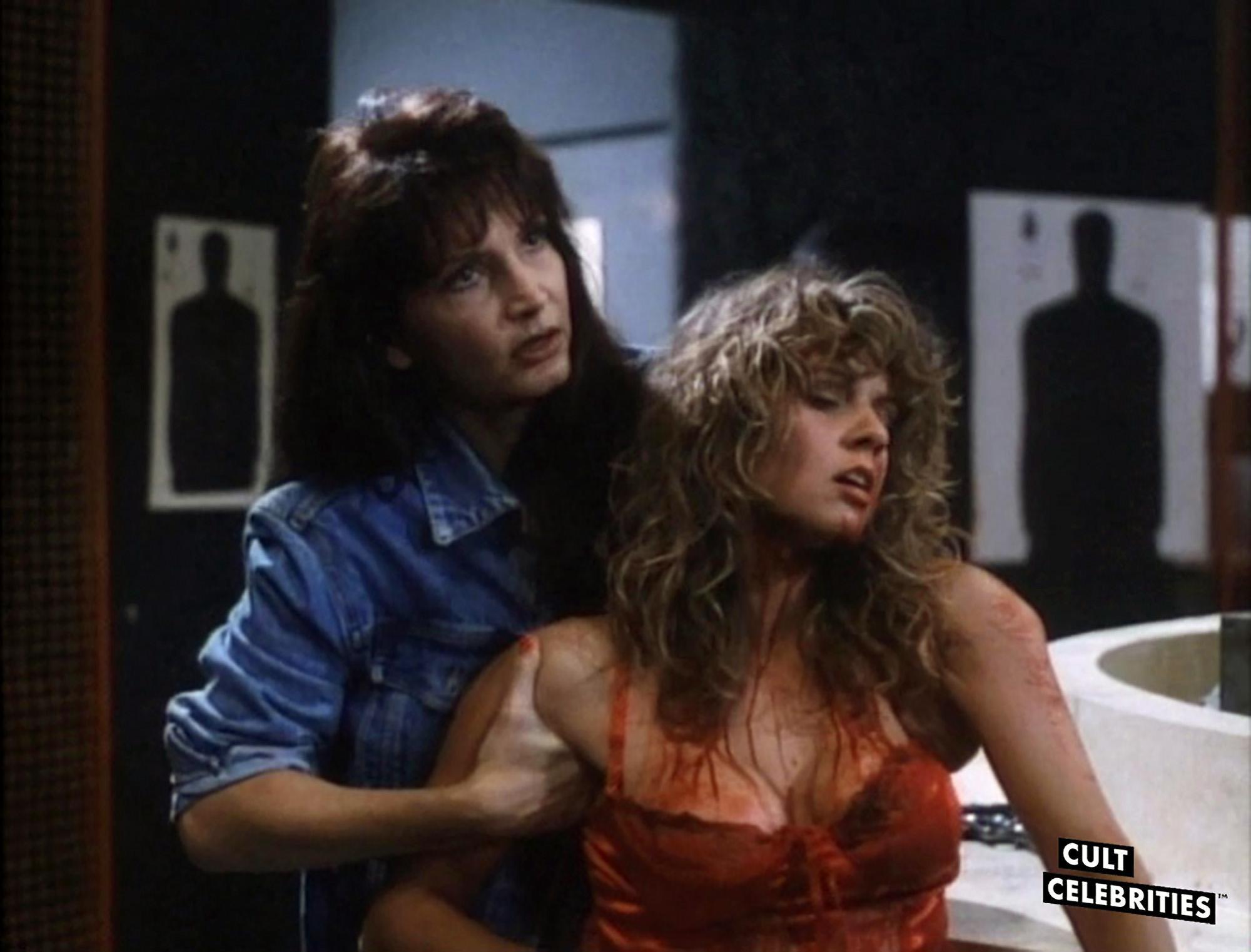 Gail Thackray and Karen Mayo-Chandler in Hard to Die (1990)