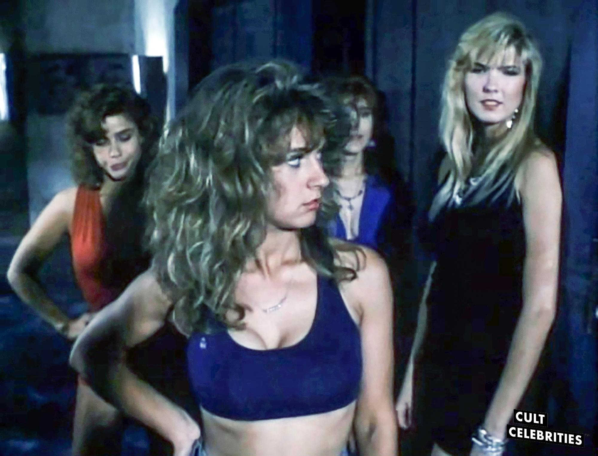 Melissa Moore, Gail Thackray, Deborah Dutch and Karen Mayo-Chandler in Hard to Die (1990)