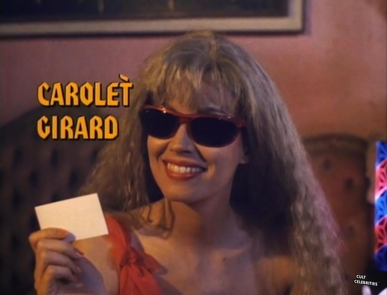 Monique Gabrielle in Hard to Die (1990) as Carolet Girard