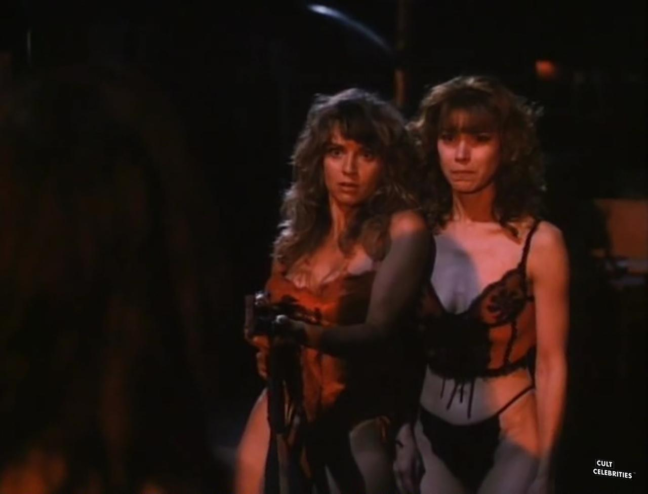 Gail Thackray and Deborah Dutch in Hard to Die (1990)