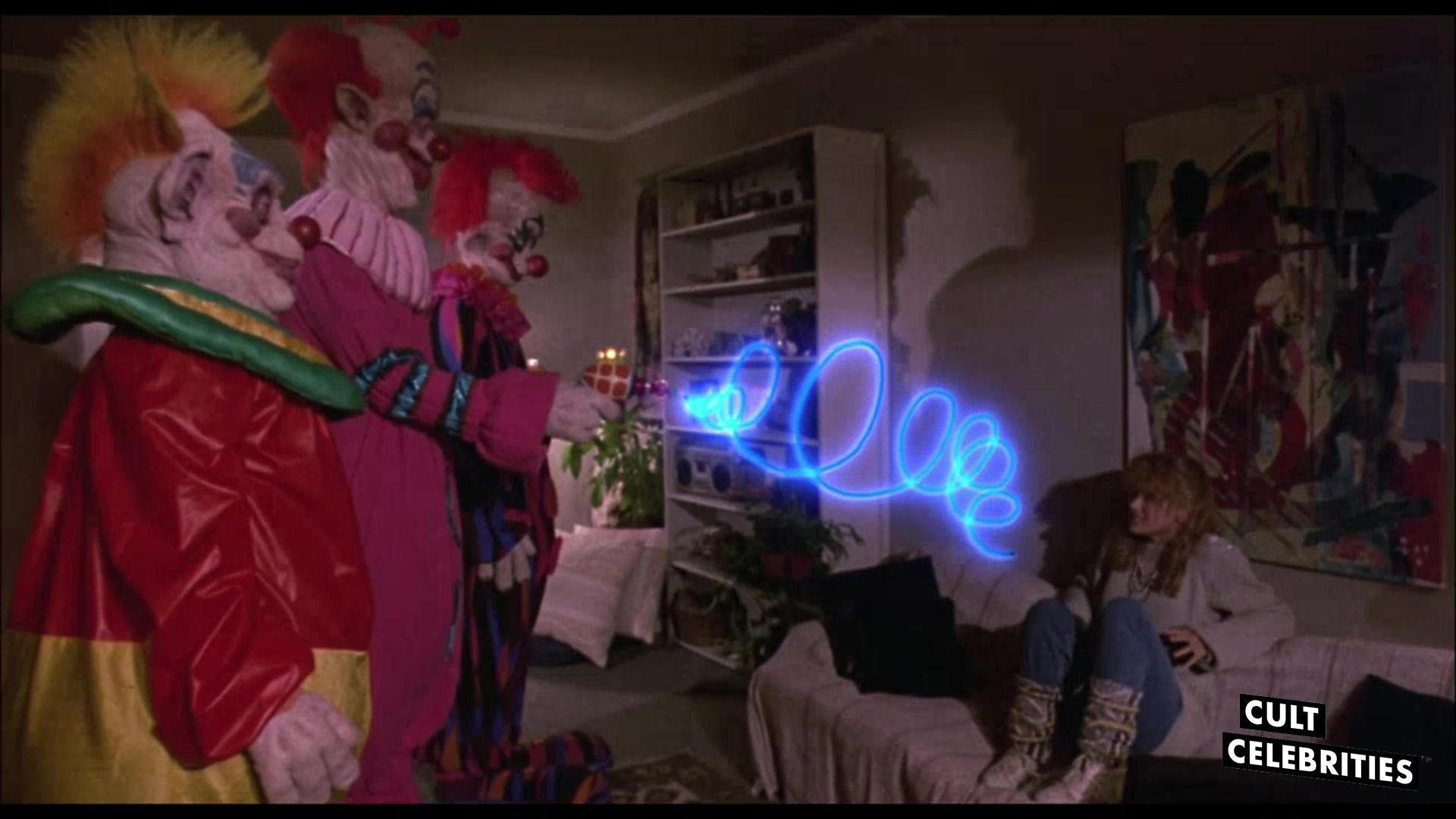 Suzanne Snyder in Killer Klowns from Outer Space (1988)