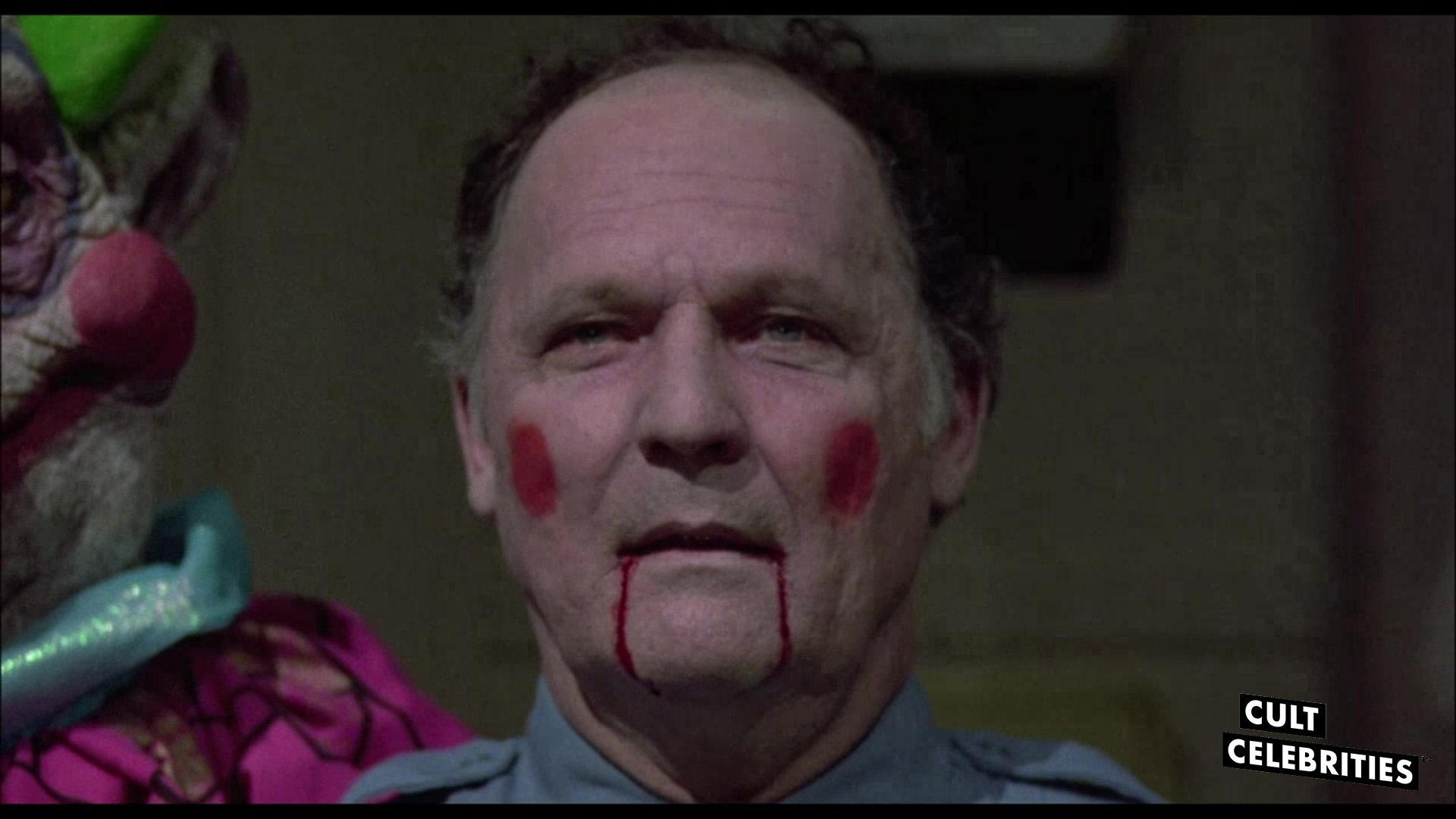 John Vernon in Killer Klowns from Outer Space (1988)