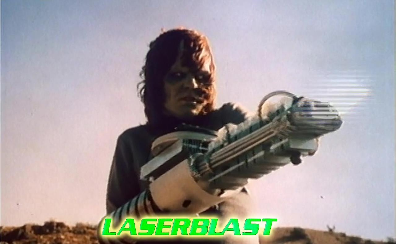 Kim Milford in Laserblast (1978)