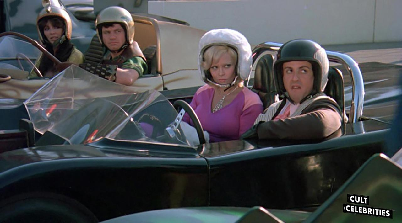 Louisa Moritz, Leslie McRay and Sylvester Stallone in Death Race 2000 (1975)
