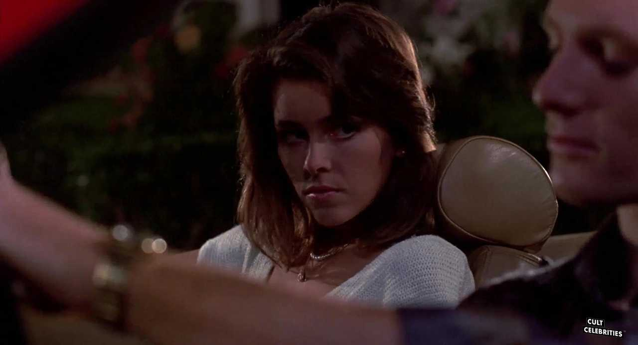 Allan Kayser and Jill Whitlow in Night of the Creeps (1986)